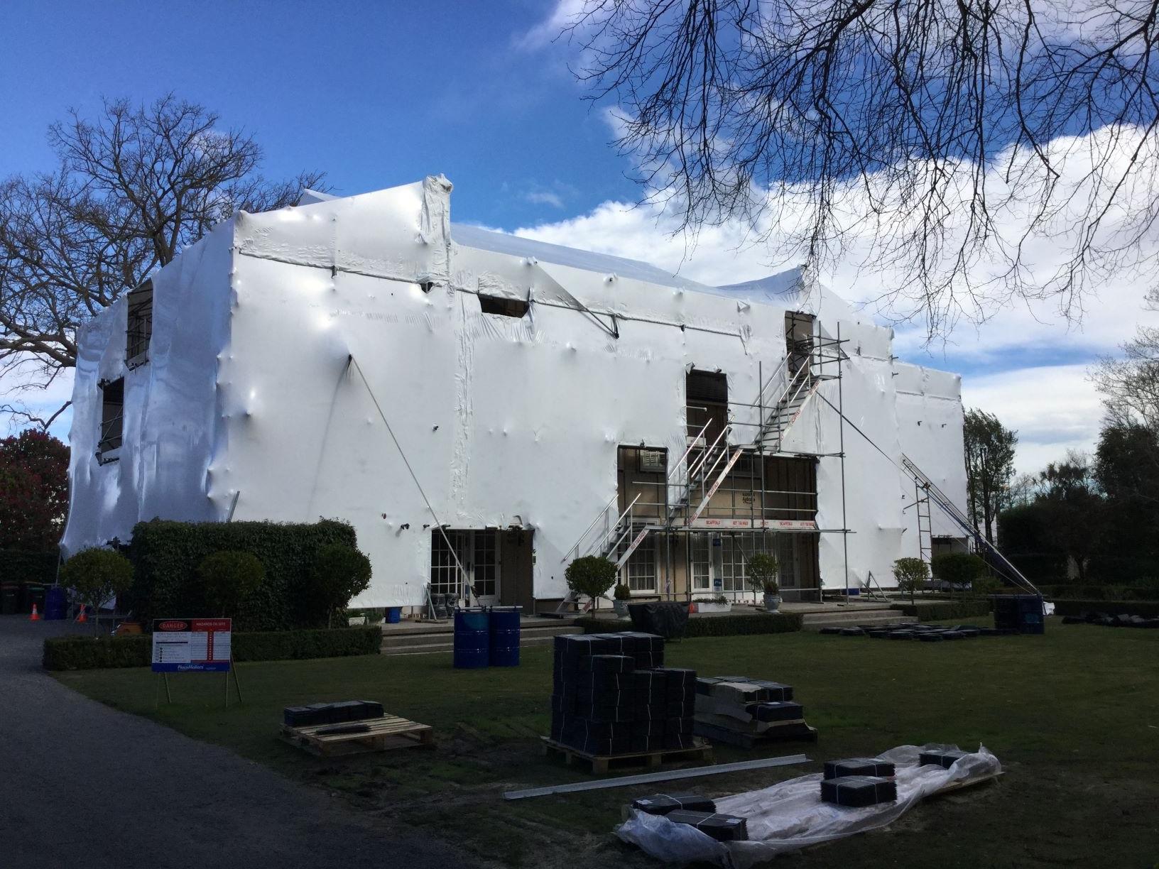 Shrink Wrap Christchurch Canterbury Erect Scaffolding LTD