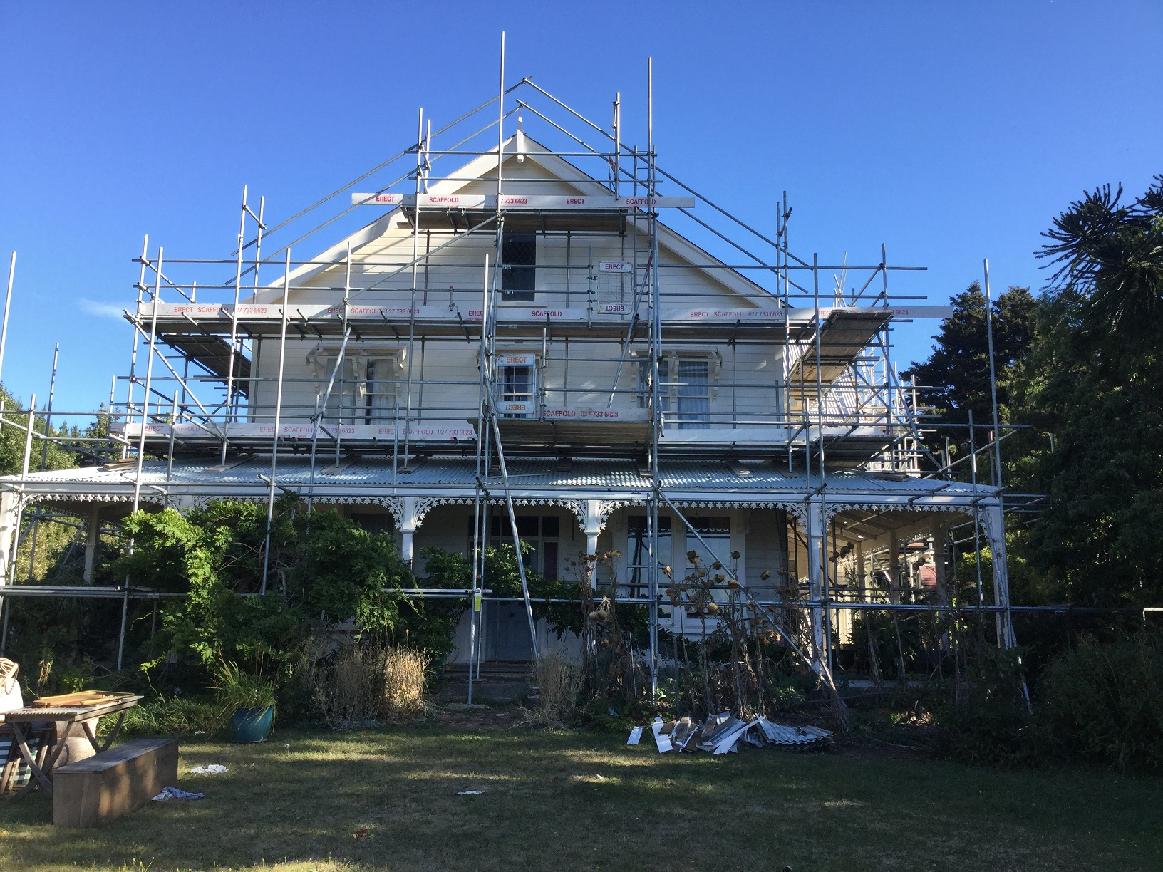 Christchurch Roof Edge Protection Services Erect Scaffolding LTD Christchurch