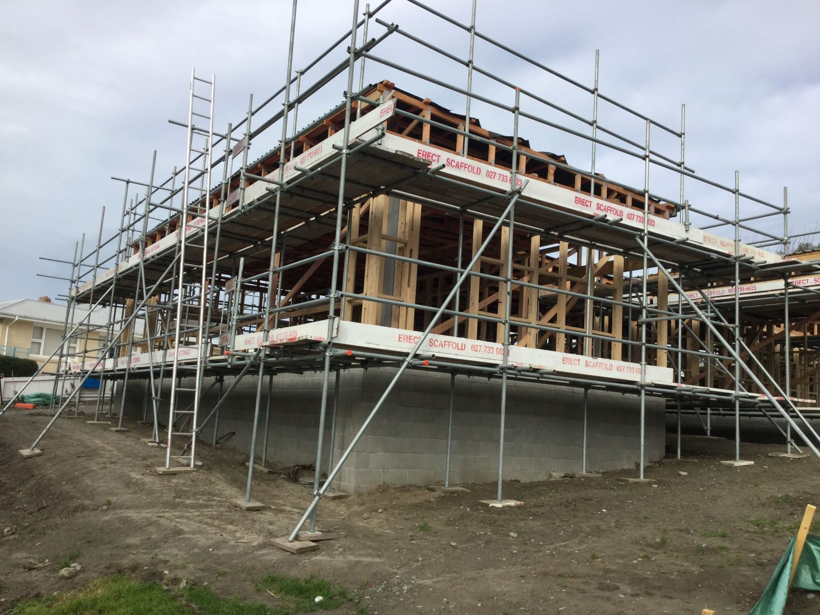 Roof Edge Protection Christchurch Erect Scaffolding LTD